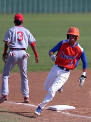 San Angelo Central High School's Rance Rosas is known for his blistering speed on the basepaths and in the field. The Bobcats senior signed with Baylor University on Wednesday.