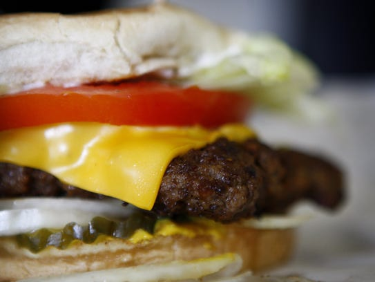 Cheeseburger at Sweden Kream