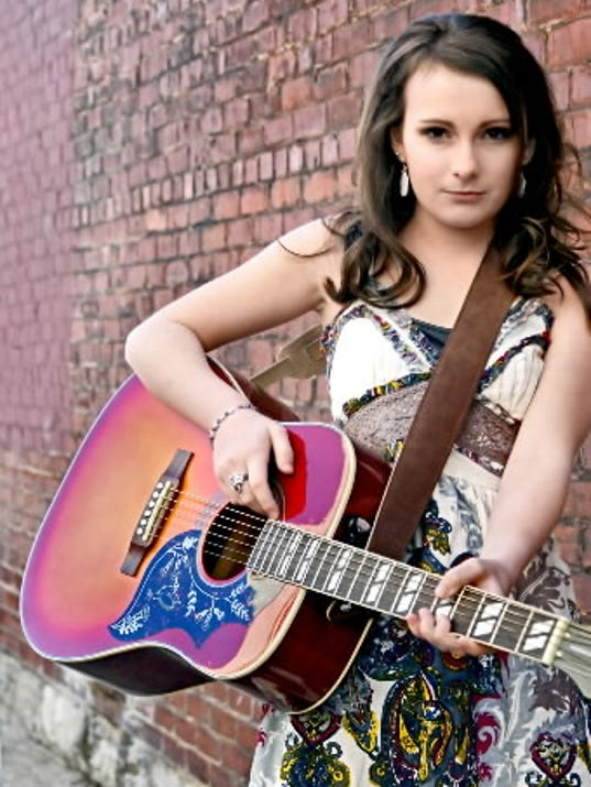 Leah Burkey, who turns 13 Saturday, attends Central York Middle School and aspires to be a country star.