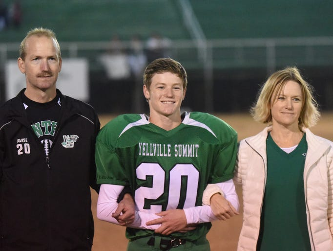 Yellville-Summit held its Senior Night festivities