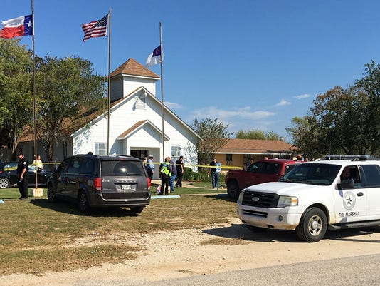 AP CHURCH SHOOTING TEXAS A USA TX