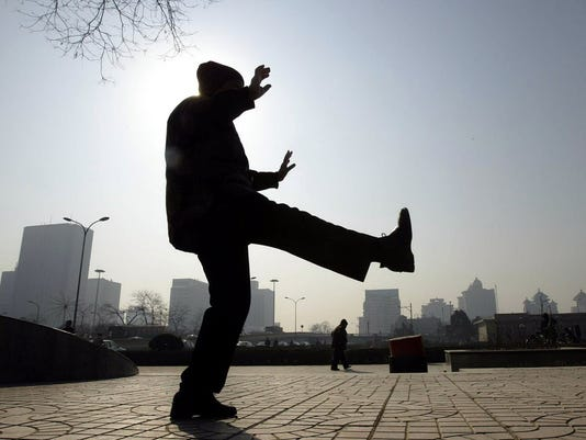 AFP CHINA-EXERCISE-TAI CHI HTH HEALTH TREATMENT CHN