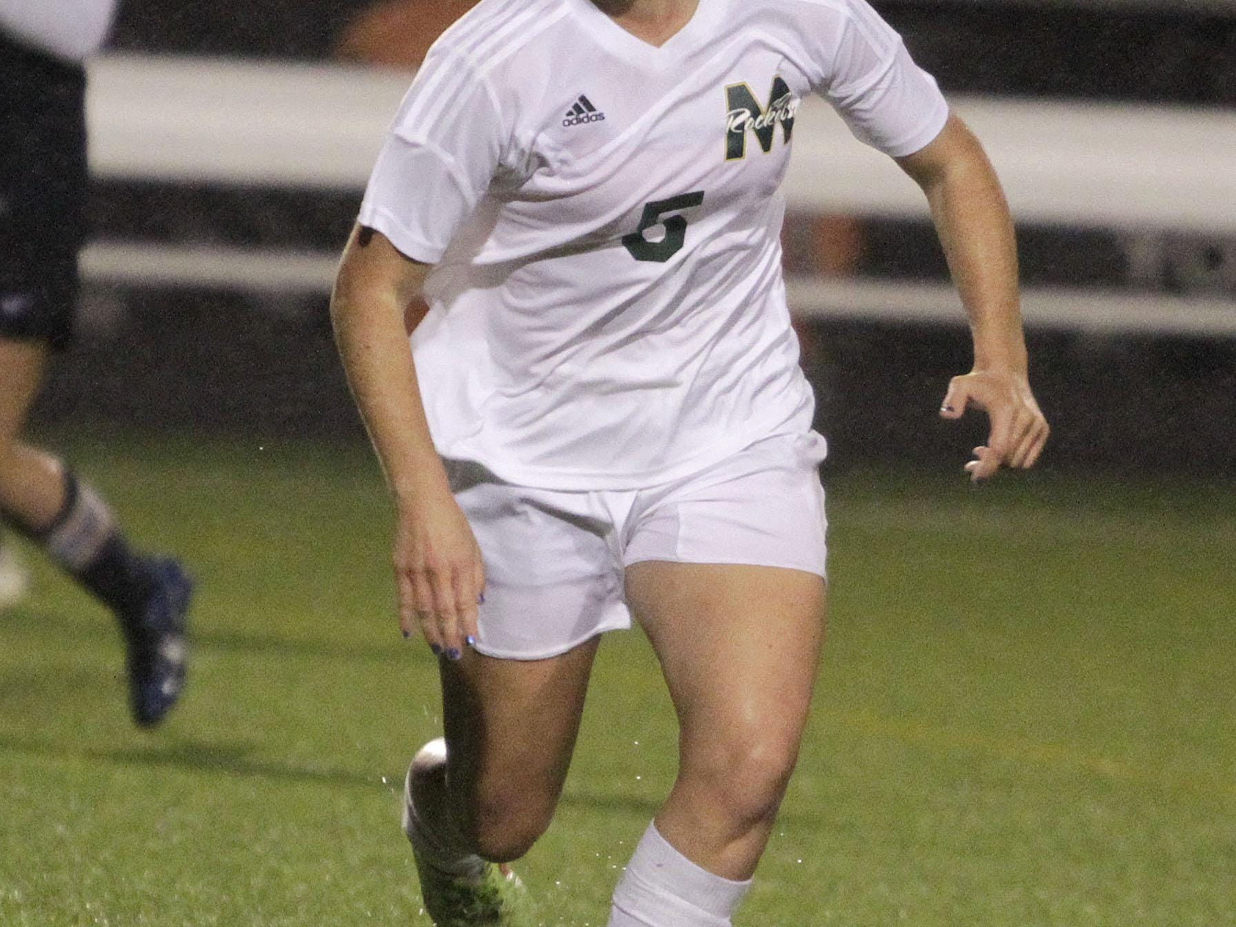 McNicholas' Sophie Gorman led the GCL Coed division in scoring with 16 goals and a total of 41 points and helped McNicholas win its first girls' soccer state championship.