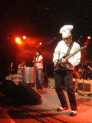 """Bill """"Sauce Boss"""" Wharton is cooking things up at the Downtown GetDown on Friday night."""