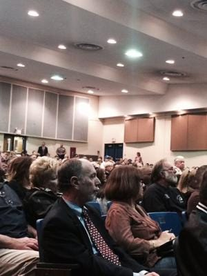 More than 1,000 people attended a meeting in the fall to discuss real estate soliciting and other issues in Toms River's North Dover section