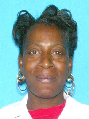 Missing person Alberta Harris.