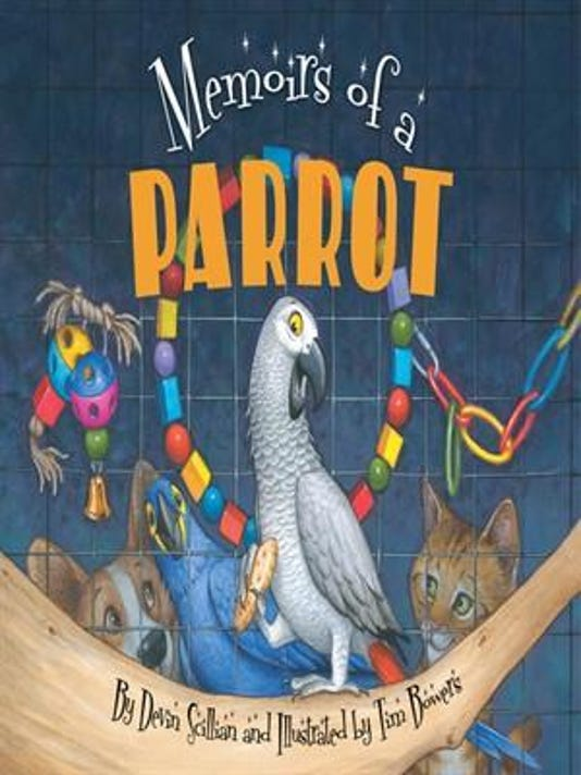 TV news anchor's 'Memoirs of a Parrot' a hit for kids