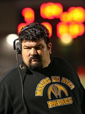 Roy Lopez returns to the sideline as head football coach at Sunnyside High in Tucson.