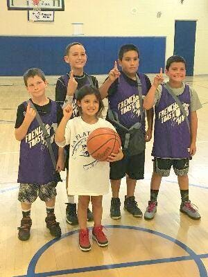 Lil French Toast Mafia won the youth division of the La Plata 3-on-3 Basketball Tournament over the weekend.