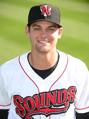 Chad Pinder of the Nashville Sounds