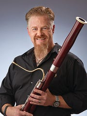 Mark Ortwein plays bassoon for the Indianapolis Symphony