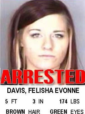 Felisha Evonne Davis, of Salem, was arrested by Albany police on Wednesday, Oct. 5 in Albany for heroin possession.