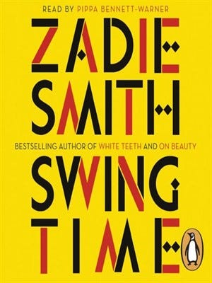 """Swing Time,"" by Zadie Smith"