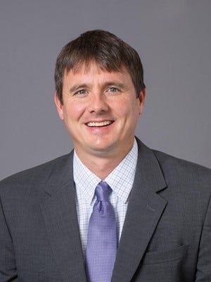 ACU men's basketball coach Joe Golding