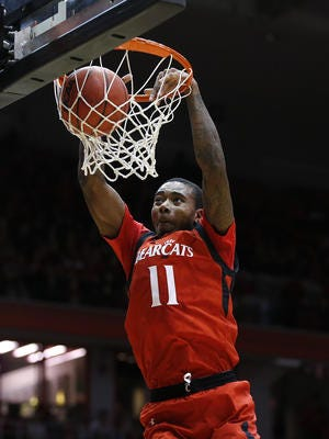 Gary Clark and the No. 2-seeded Cincinnati Bearcats hope to bring home the championship nets this weekend at the AAC tournament, which is in Hartford, Connecticut.
