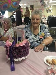 Mae Grigonis celebrated her 100th birthday on July