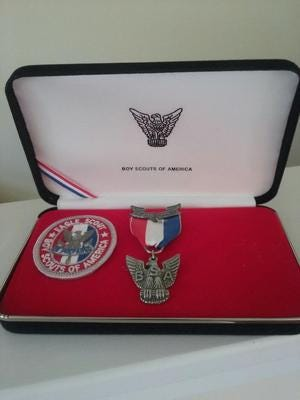 Eagle scout patch and medal will no longer be just for male scouts after the Boy Scouts of America said girls are welcome in their core scouting programs.