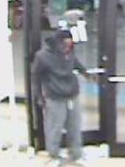 Shoplifting suspect is seen on surveillance at Old Navy in Shreveport.