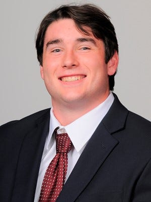 Massachusetts offensive lineman Jack Driscoll has elected to enroll at Auburn as an immediately eligible graduate transfer.