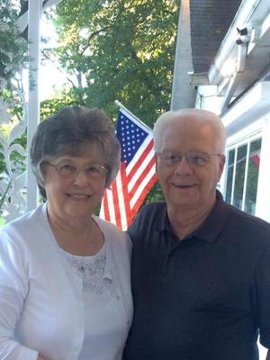 Anniversaries: Wilbur Hamblin & Betty Hamblin