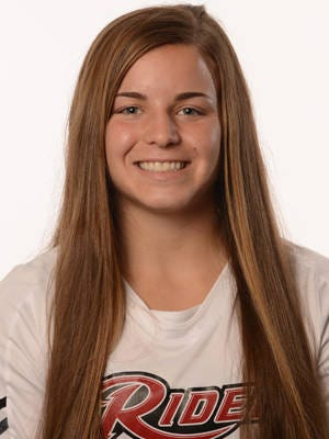 Tara Ballay, a former Delran soccer star, earned All-America honors at Rider.
