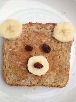 cute toast