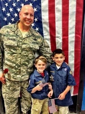 Daniel Cykewick. Air Force. Cousin to Jackson and Hunter Mollo of River Plaza School.