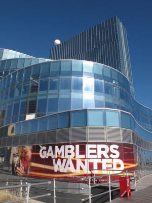 2013 file photo of the Revel casino in Atlantic City