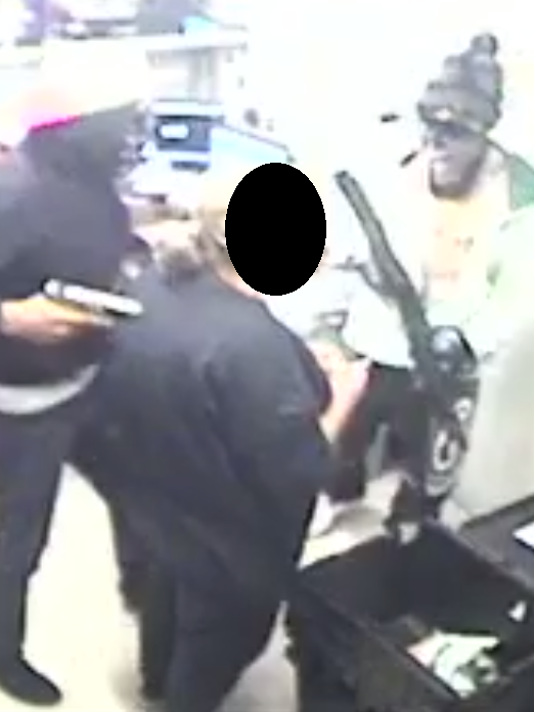 Convenience-store robbers