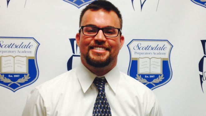 Jake Barro, who comes from a football  coaching family, will lead his first program at Scottsdale Prep.