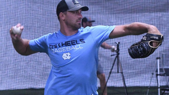 Ashley graduate Trevor Kelley went through workouts less than two weeks ago in Wilmington at Fuel Baseball. Now he's in Philadelphia, returning to training with the Phillies before Major League Baseball's abbreviated 2020 season.