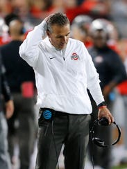 Ohio State coach Urban Meyer had plenty of reasons