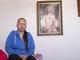 Guadalupe García de Rayos, de 36 años, sentada en su