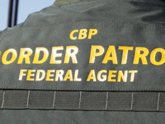 A U.S. Customs and Border Protection agent.