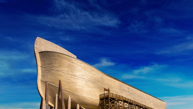 The life-sized replica of Noah's Ark in Williamstown, Ky.