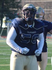 Junior Christian Love (58) is in his second year as