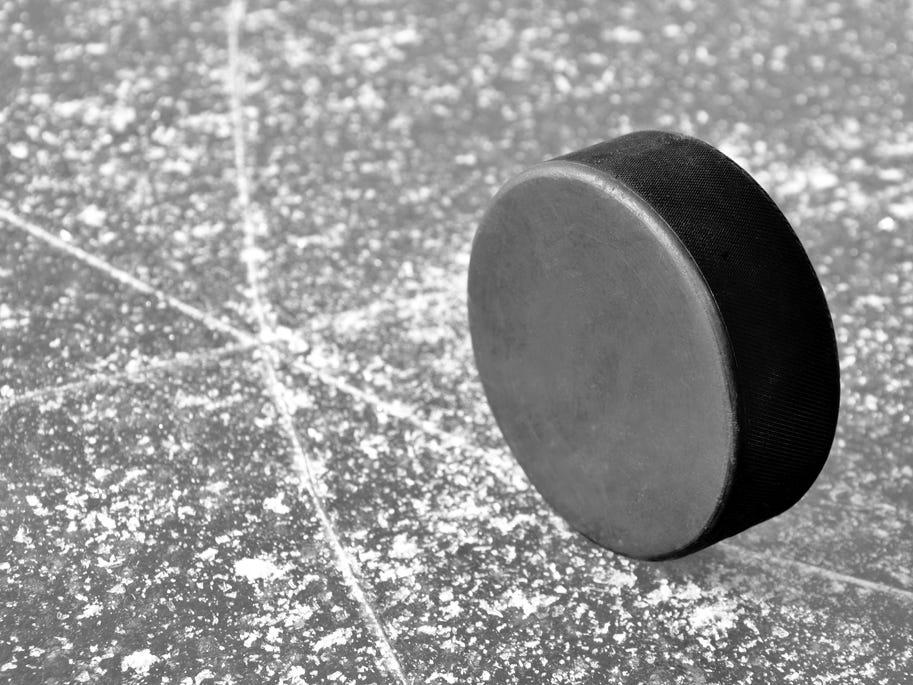 Prep hockey results
