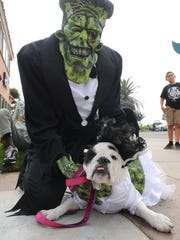 Pet owners are invited to dress up with their pups for the Howl-O-ween costume contest at Ventura Harbor Village and Mission Oaks Park in Camarillo.