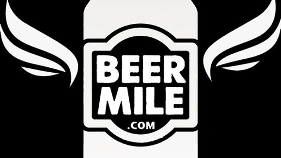 The Beer Mile