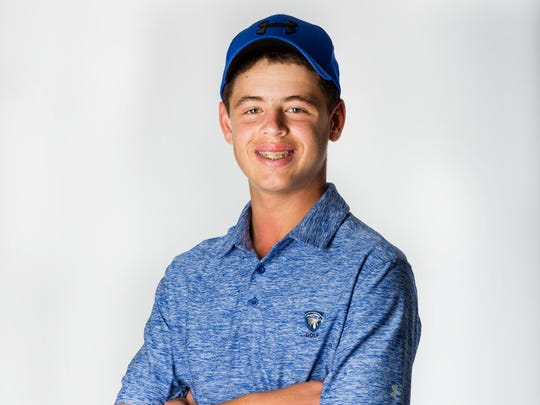 2016 Fall Player of the Year finalist Harrison Ornstein, Community School of Naples golf