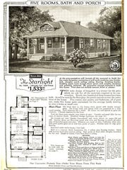 A Starlight home featured in a Sears catalog.