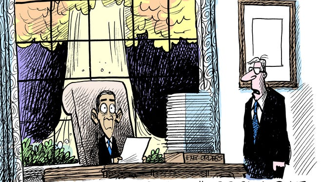 Marshall Ramsey, Creators.com, drew this cartoon.