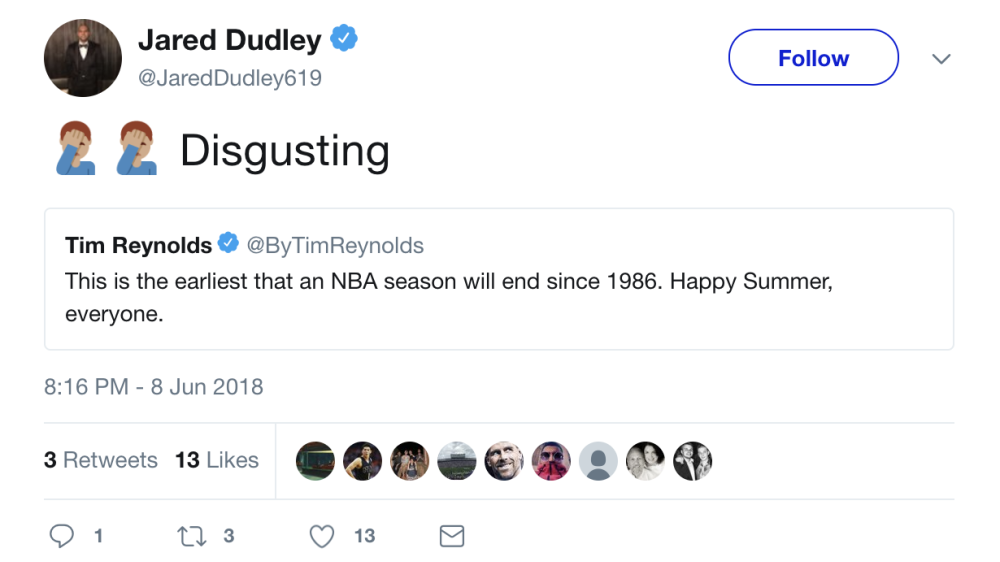nba players react to warriors blowing out cavaliers in game 4