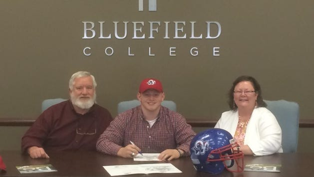 Hendersonville's Rhett Hoy has signed to play college football for Bluefield (Va.).
