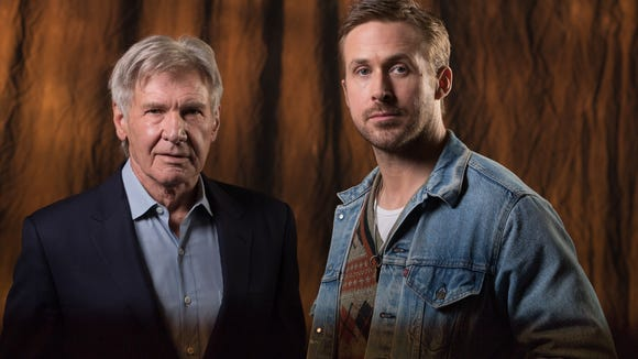 Ryan Gosling and Harrison Ford get serious about 'Blade