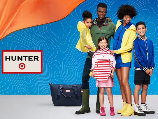 Target and boot maker Hunter are debuting a limited