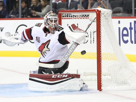 NHL: Arizona Coyotes at New York Islanders