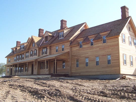 Bob Lang spent $3 million building a rustic-looking Irish manor clubhouse at Erin Hills.