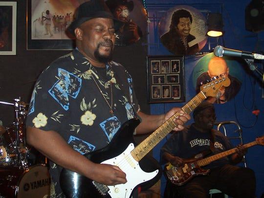 Johnnie Marshall hits up the JBradfordville Blues Club on Saturday.