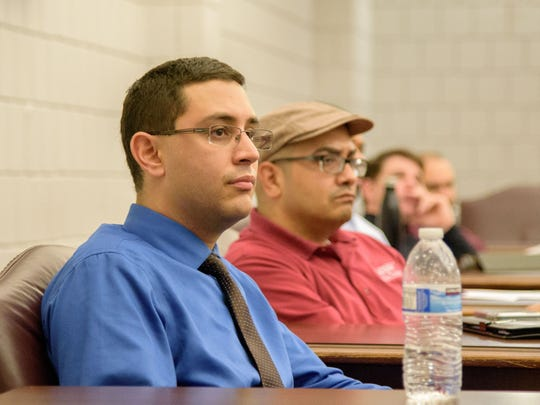 The local fee committee is comprised of 3 undergraduate students, one graduate student and four staff advisors.